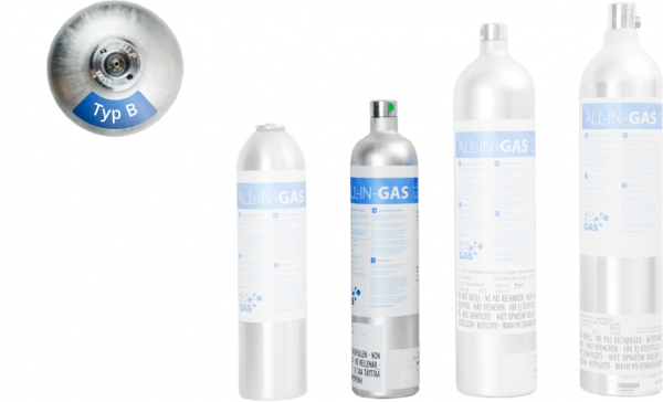 Four-gas mixtures
